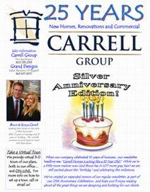 2012 Silver Anniversary Edition Newsletter - Custom Home Builder Myrtle Beach: Carrell Group